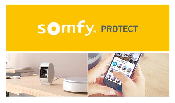 Opter pour un système d'alarme de maison Somfy